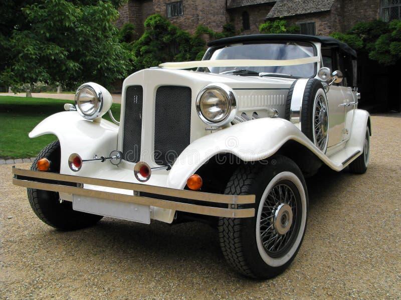 Automobile di cerimonia nuziale fotografia stock