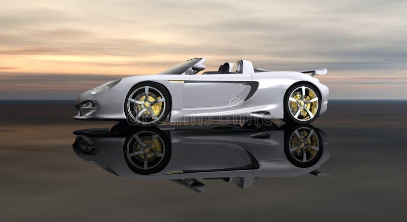 Automobile di CG illustrazione di stock
