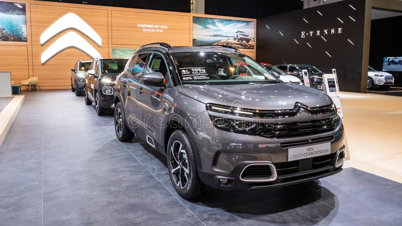Automobile di Citroen C5 Aircross SUV fotografia stock