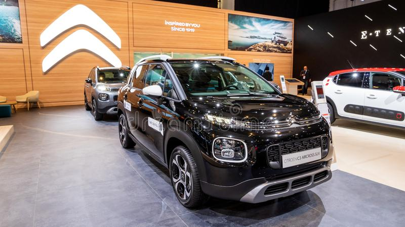 Automobile di Citroen C3 Aircross SUV fotografia stock