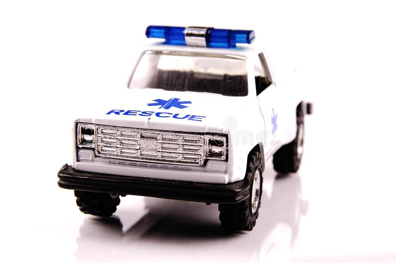 Automobile di emergenza fotografia stock
