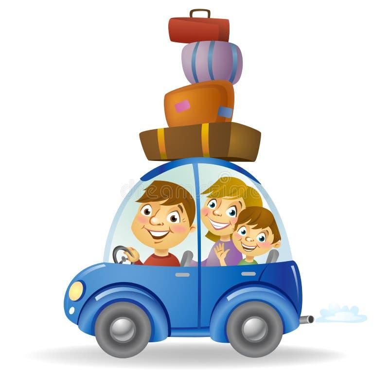 Automobile di famiglia illustrazione di stock