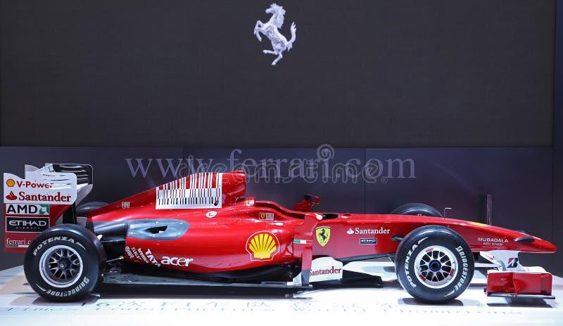 Automobile di formula 1 del Ferrari
