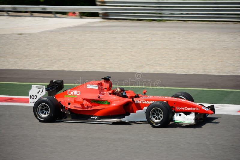Automobile di formula di Dallara GP2 fotografia stock libera da diritti