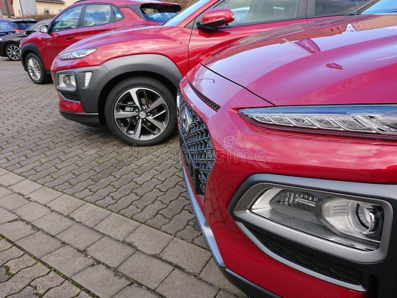 Automobile di Hyundai fotografia stock libera da diritti