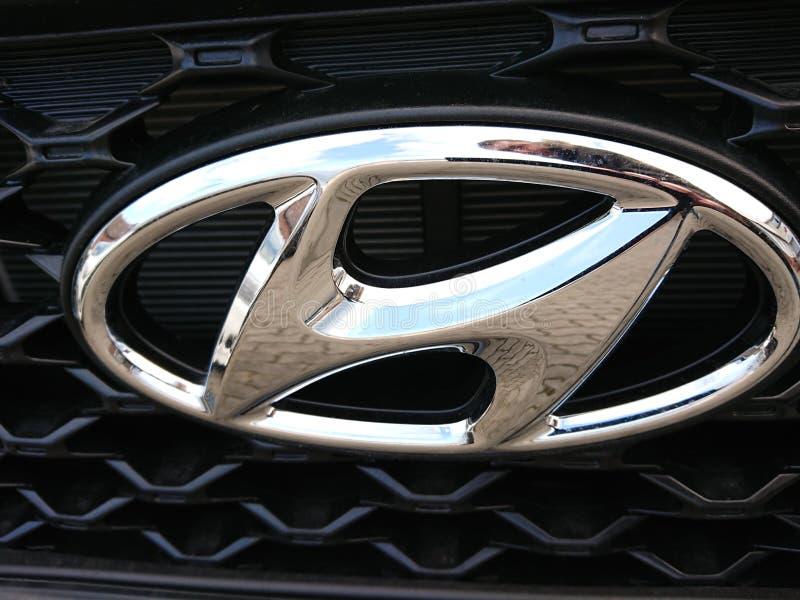 Automobile di Hyundai fotografia stock