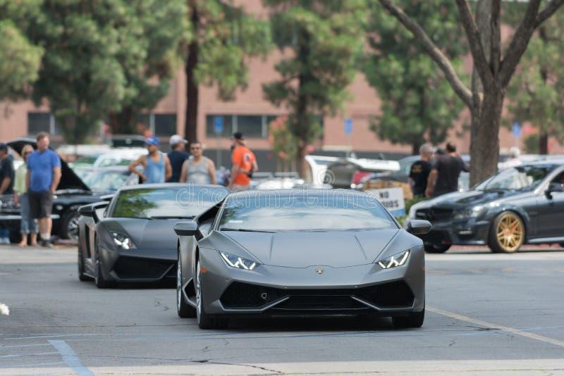 Download Automobile Di Lamborghini Huracan Su Esposizione Fotografia Editoriale - Immagine di americano, velocità: 56877906