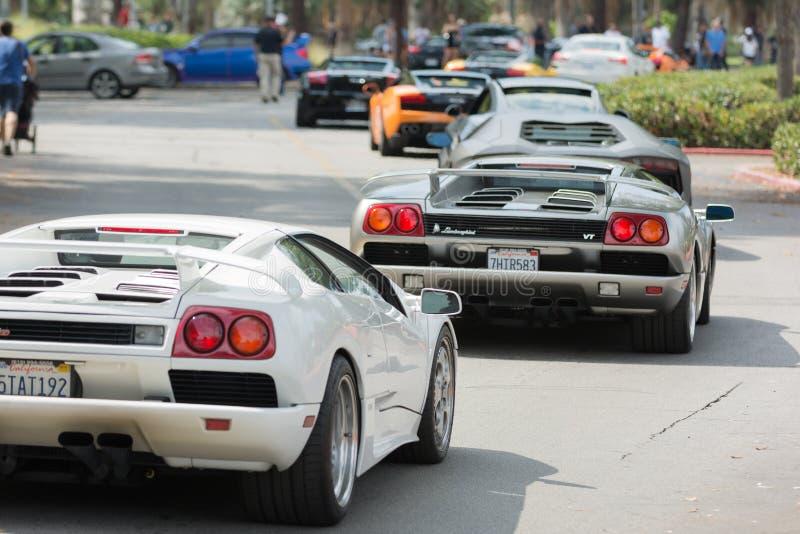 Download Automobile Di Lamborghini Su Esposizione Immagine Editoriale - Immagine di eccellente, internazionale: 56877830