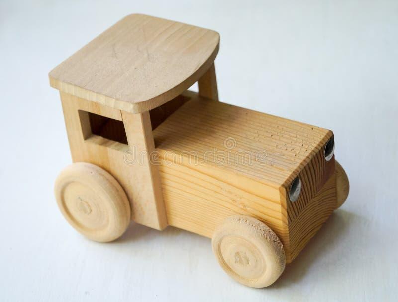 Automobile di legno fotografie stock