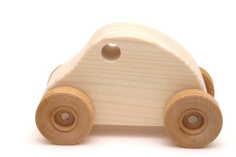 Automobile di legno del giocattolo fotografie stock libere da diritti