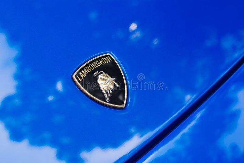 Download Automobile Di Logo Di Lamborghini Su Esposizione Fotografia Editoriale - Immagine di tecnologia, industria: 56878117