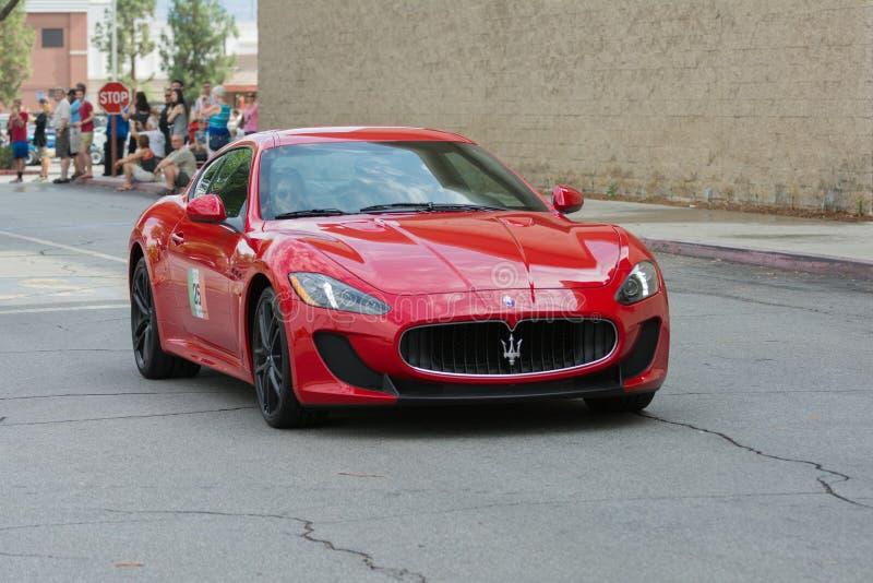 Download Automobile Di Maserati GranTurismo Su Esposizione Fotografia Stock Editoriale - Immagine di veloce, automobile: 56878153
