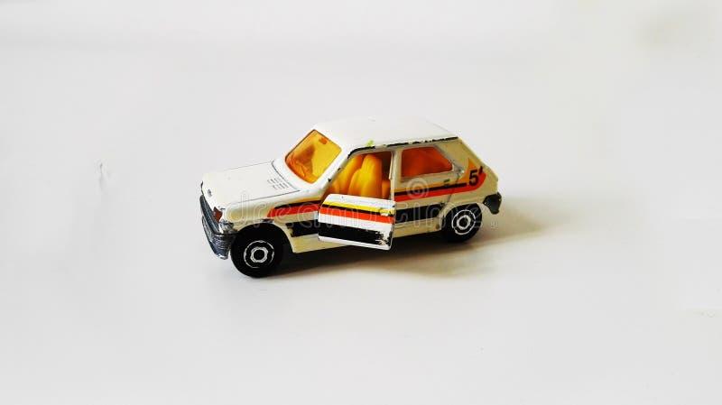 Automobile di modello Renault 5 del giocattolo immagine stock libera da diritti