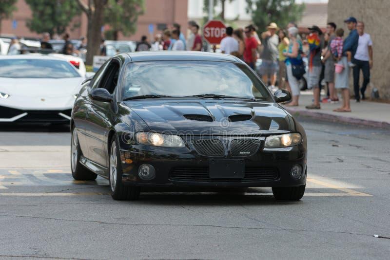 Download Automobile Di Pontiac GTO Su Esposizione Immagine Editoriale - Immagine di veicolo, mostra: 56877690