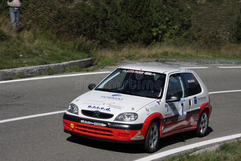 Automobile di raduno di Citroen ax 1600 fotografia stock