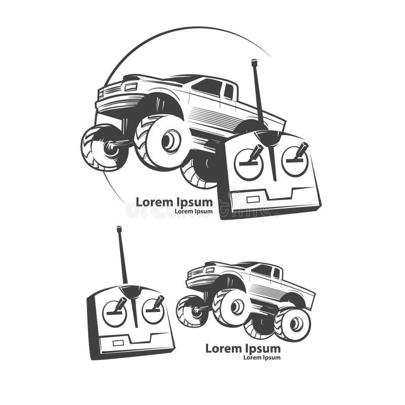 Automobile di Rc illustrazione vettoriale