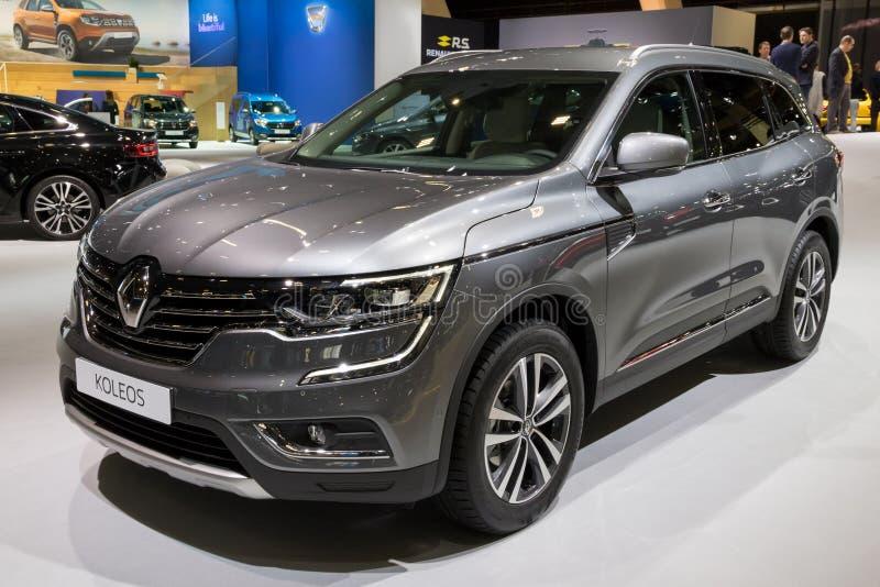 Automobile di Renault Koleos SUV immagini stock