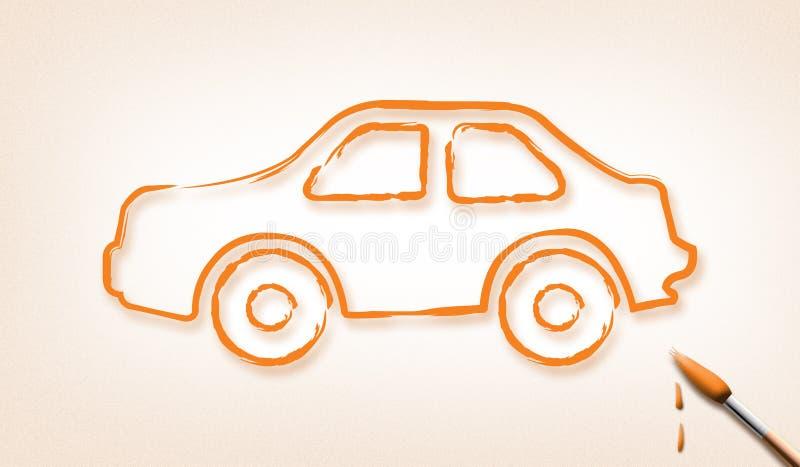 Automobile di sogno fotografia stock