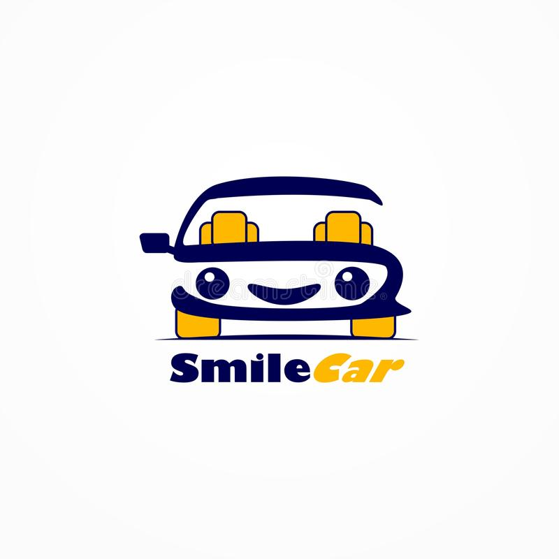 Automobile di sorriso royalty illustrazione gratis