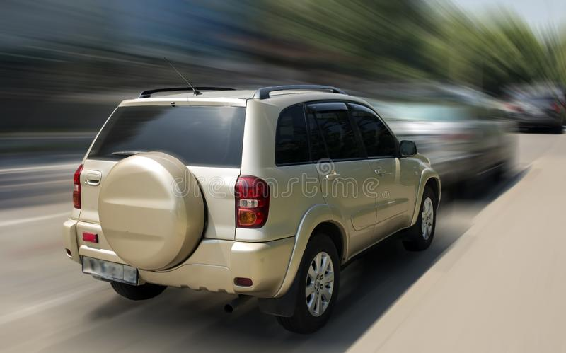 Automobile di Toyota RAV-4 immagine stock