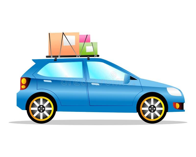 Automobile di viaggio immagini stock libere da diritti