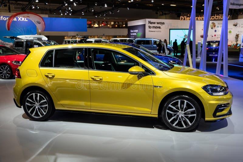 Automobile di Volkswagen Golf GTI immagine stock libera da diritti