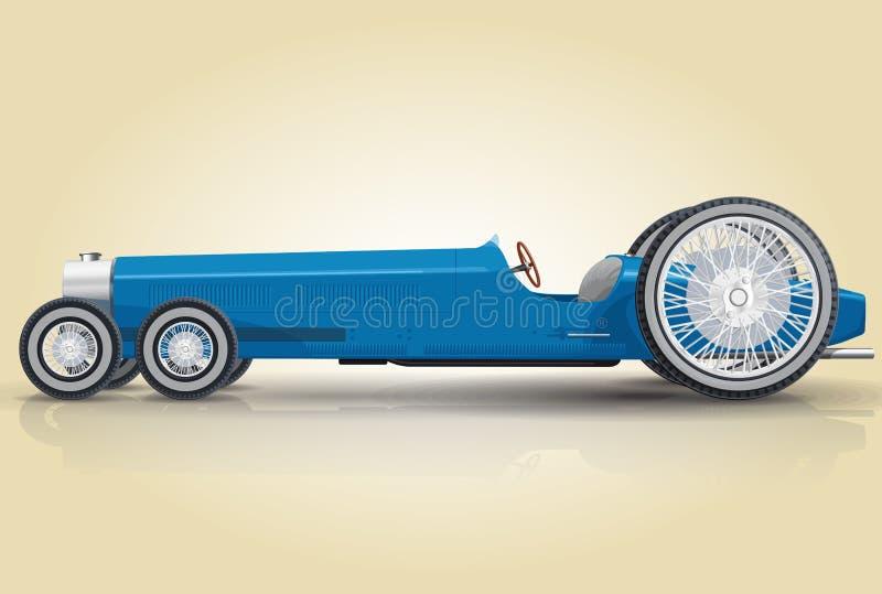 Automobile divertente royalty illustrazione gratis