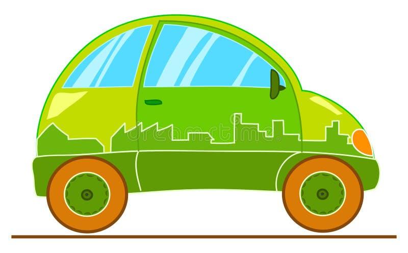 Automobile divertente sconosciuta royalty illustrazione gratis