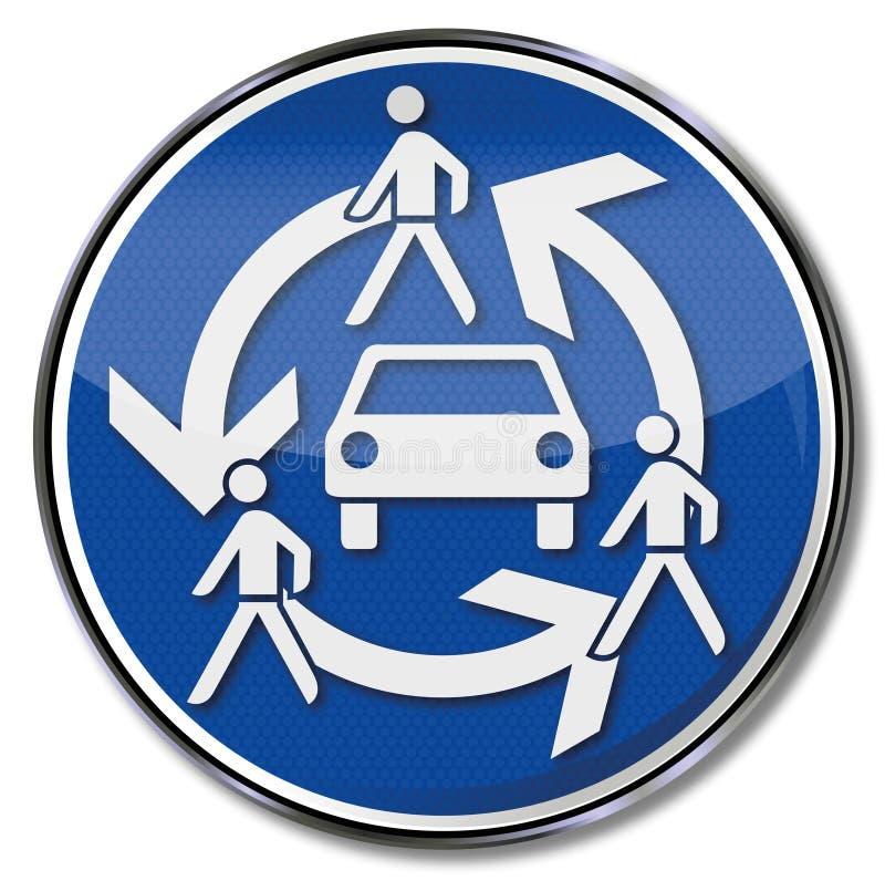 Automobile e car sharing illustrazione vettoriale