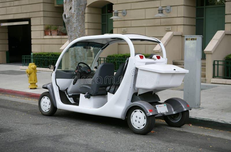 Automobile elettrica immagine stock