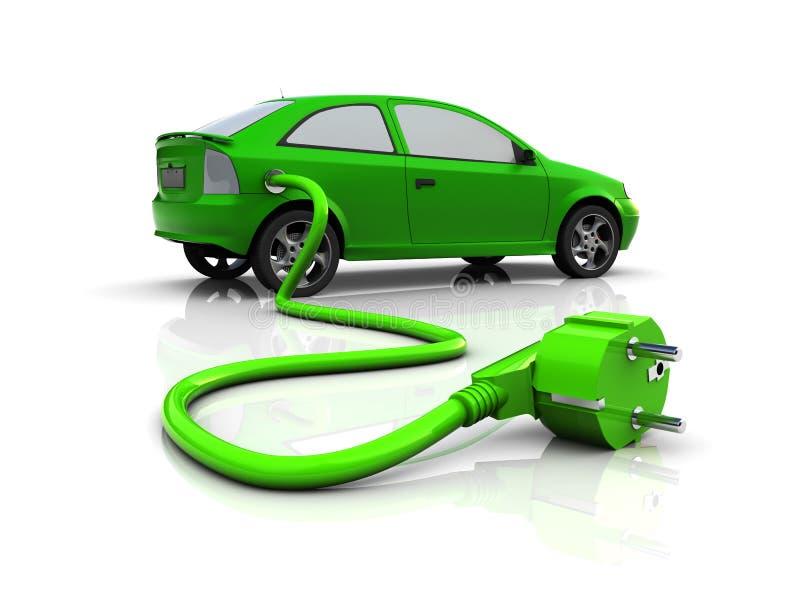 Automobile elettrica royalty illustrazione gratis
