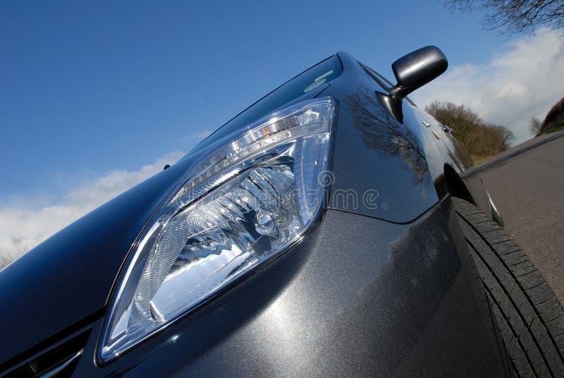 Automobile elettrica ibrida. fotografie stock