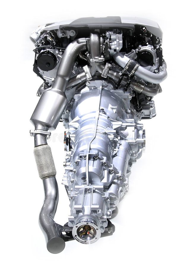 Automobile Engine royalty free stock photos