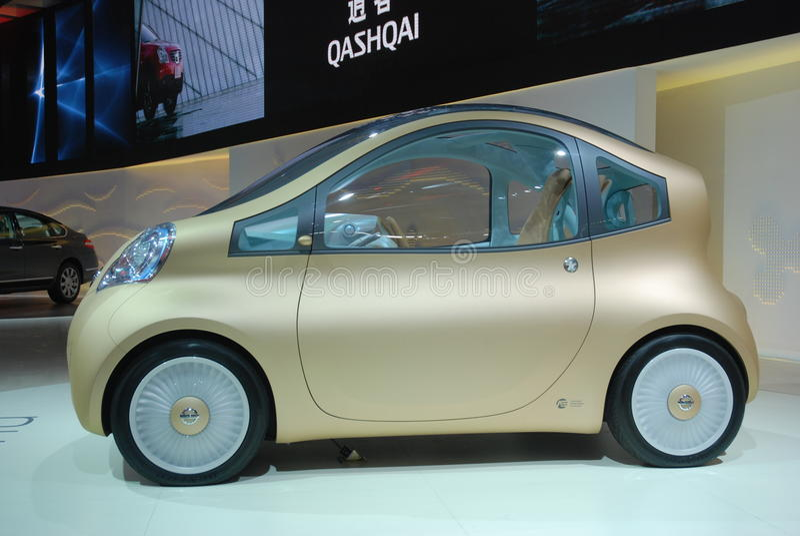 Download Automobile Exhibition Nissan Concept Car Editorial Photography - Image: 12052972