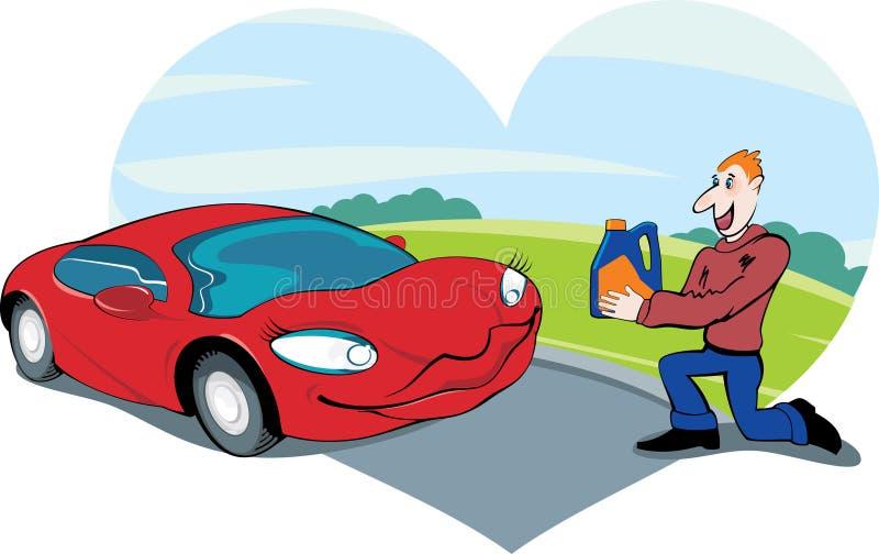 Automobile favorita illustrazione vettoriale