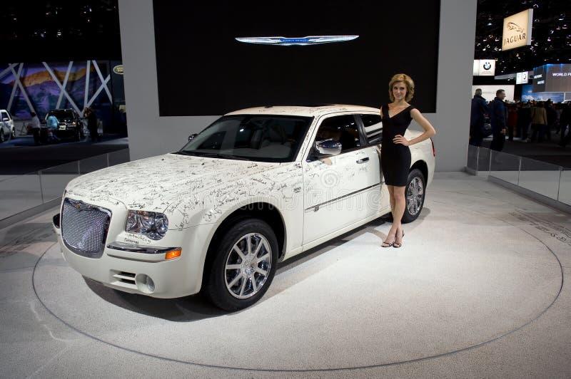 Automobile firmata celebrità fotografia stock libera da diritti