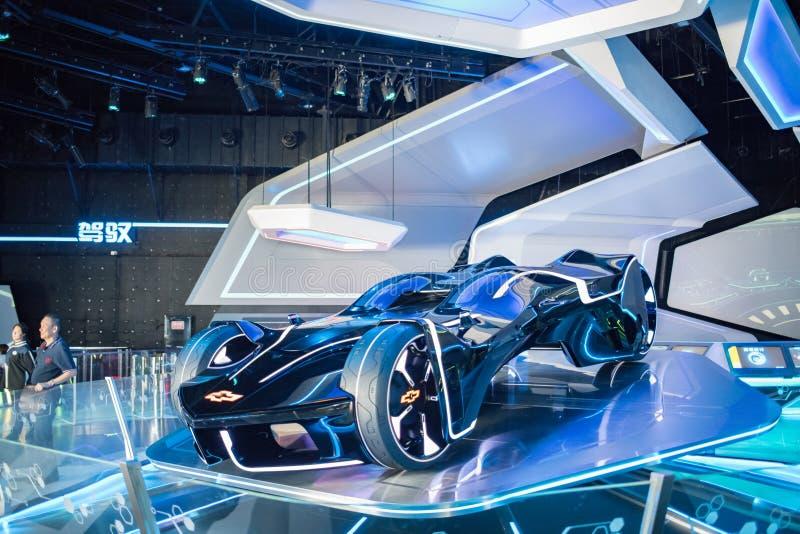 Automobile futuristica di Chevrolet immagine stock