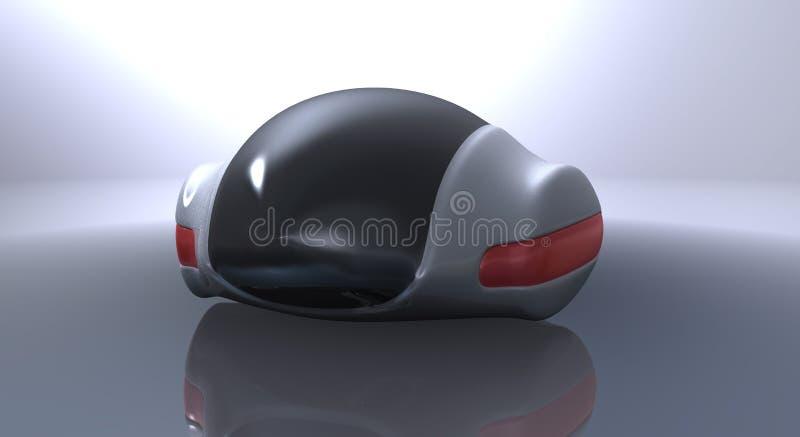 Automobile futuristica di concetto royalty illustrazione gratis