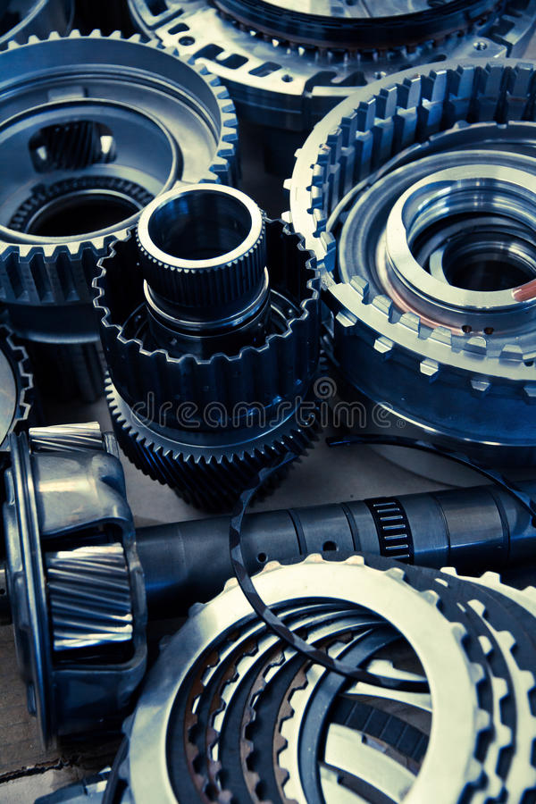 Automobile gear assembly royalty free stock image