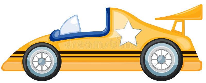 Automobile gialla royalty illustrazione gratis