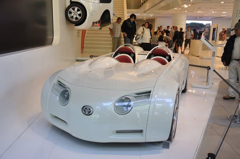 Automobile ibrida di concetto di CSS Toyota immagini stock libere da diritti