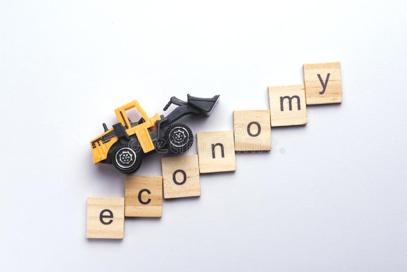 Automobile Industry crisis and downfall and growth. Automobile Industry crisis, economy down fall, economic depression stock photos