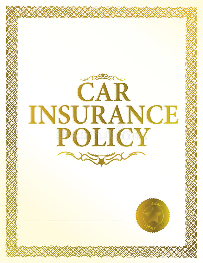 Download Automobile Insurance Policy Stock Vector - Image: 18056739