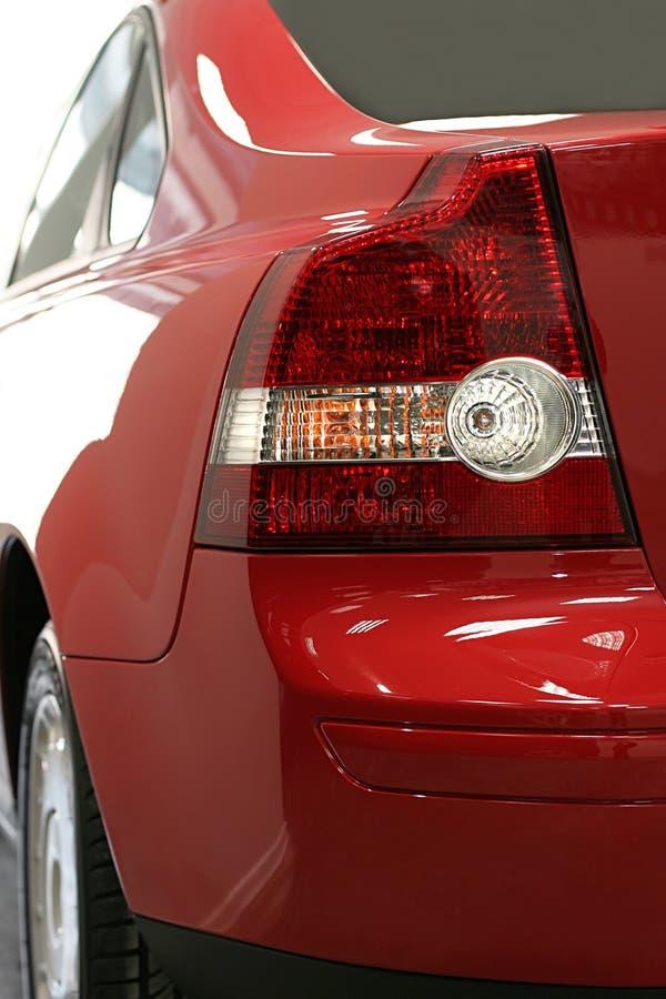 Automobile moderna rossa fotografie stock libere da diritti