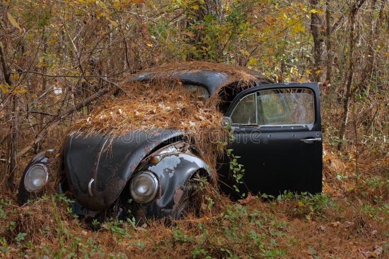 Automobile nel legno 3 immagine stock libera da diritti