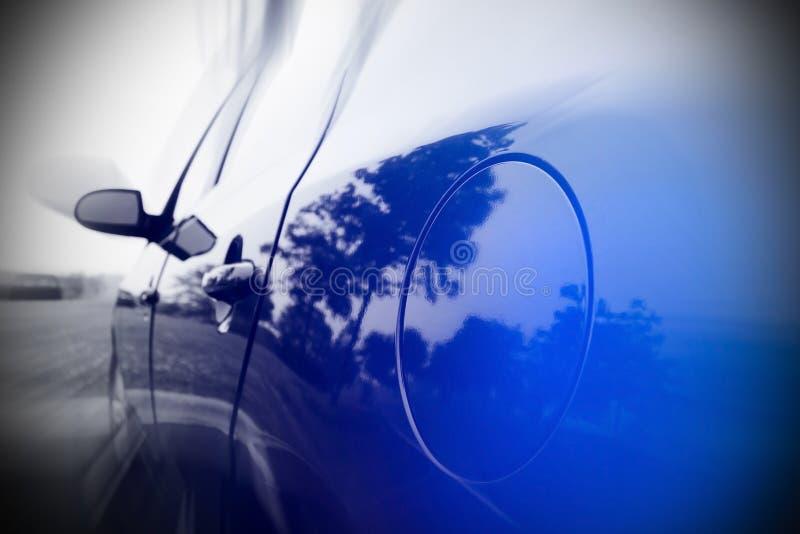 Automobile nel moto fotografie stock libere da diritti