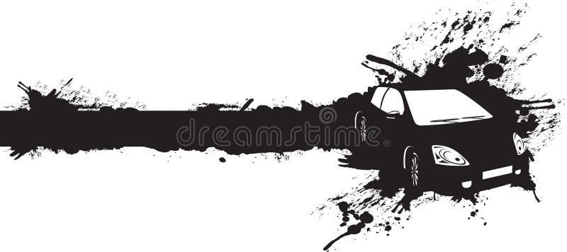Automobile nera royalty illustrazione gratis