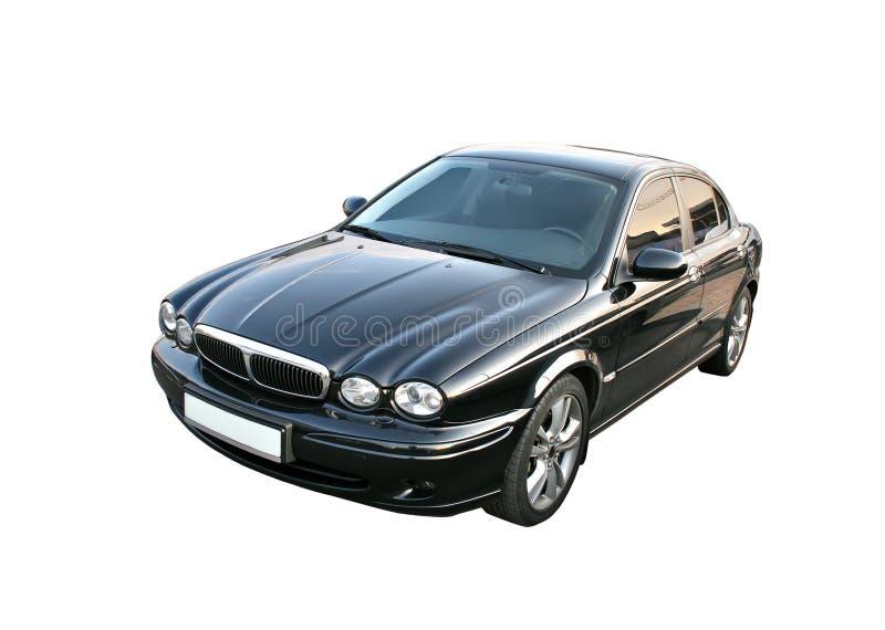 Automobile nera immagine stock