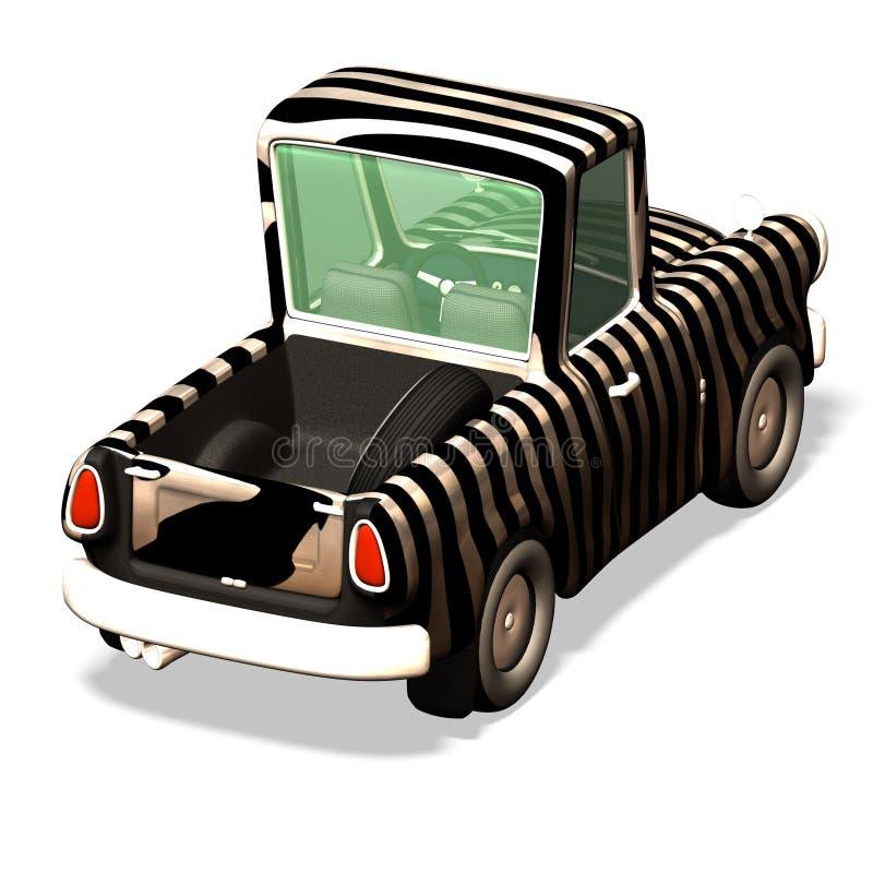 Automobile no. 35 del fumetto illustrazione di stock