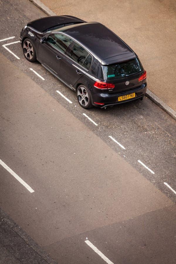 Automobile parcheggiata fotografie stock